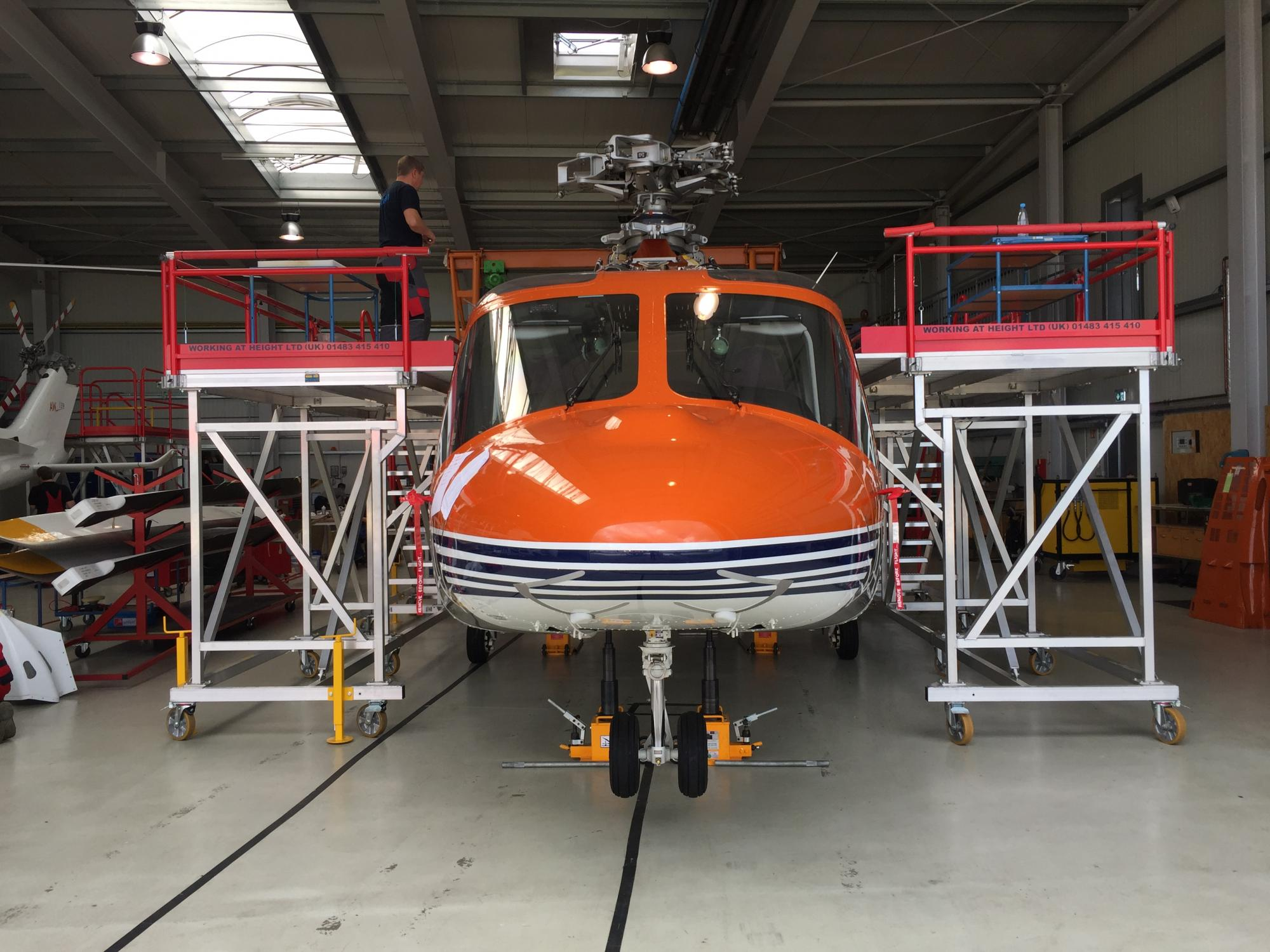 HELICOPTER ACCESS PLATFORMS
