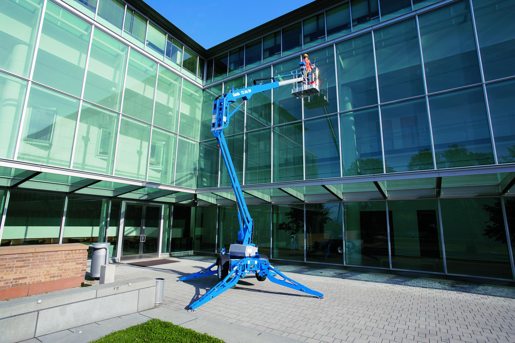 Genie® TZ34 Trailer Mounted Boom Lift