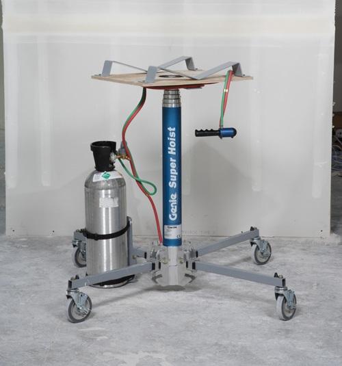 Material Lifting Jacks : Genie super hoist gas material handling lifts