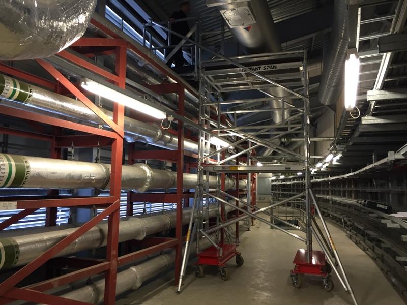 Cantilever Access Platform
