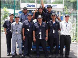 Genie Aerial Work Platform in Thailand