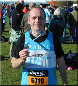 Paul completes the Great South Run!