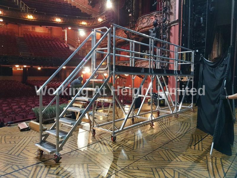 Access Platforms Centre Stage