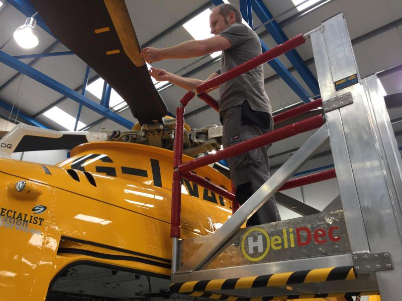 'HeliDec'™ – The Helicopter Utility Access Platform