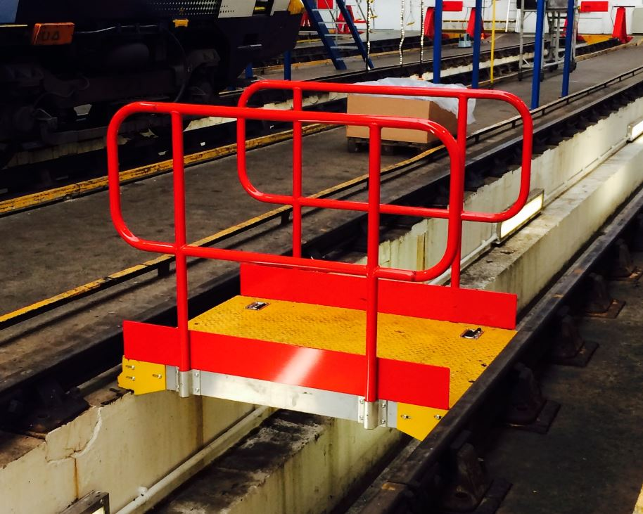 Bespoke Train Pit Boards Working At Height
