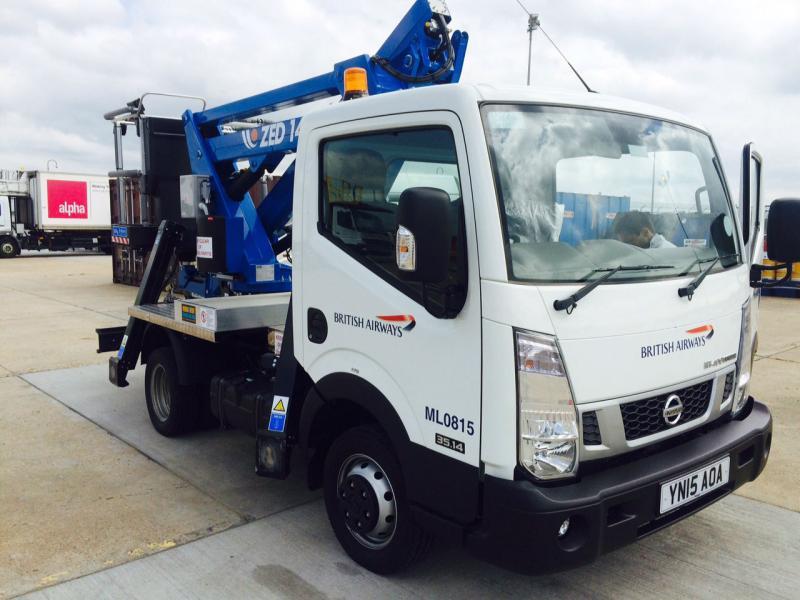 British Airways Truck Mounted Access Platform