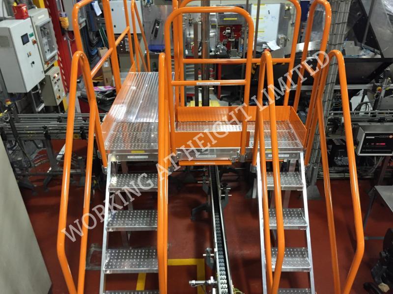 Conveyor System Walkways and Platforms