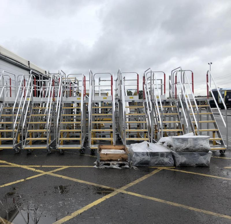 Bespoke Train Access Platforms