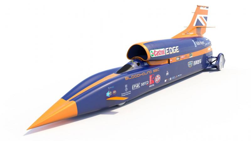 A Christmas present for Bloodhound SSC