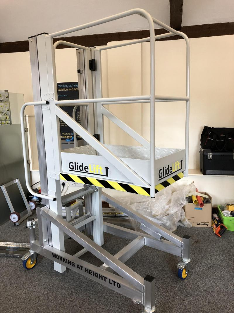 Powder Coated Access Platform – Glidelift