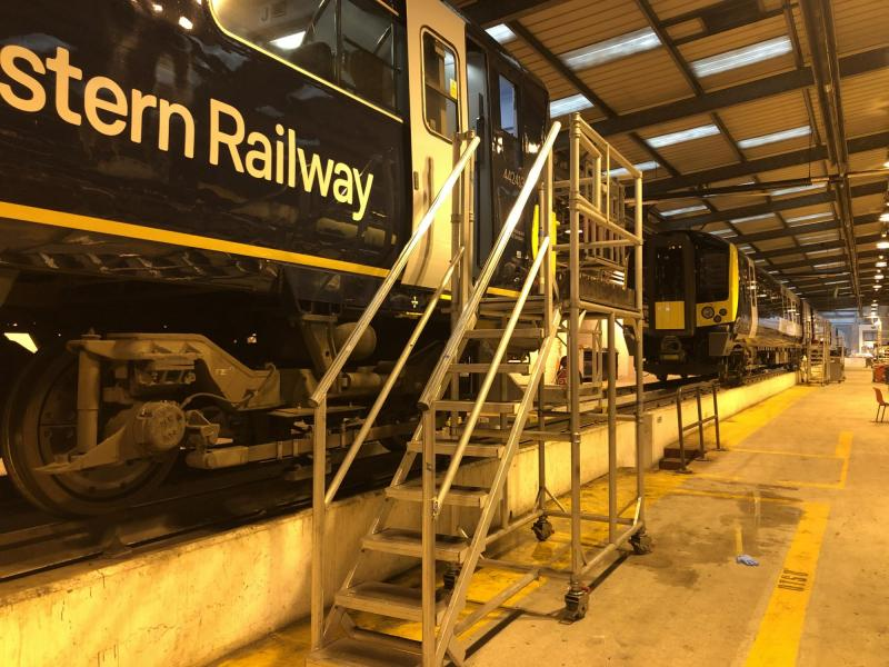 Train Maintenance Access Platforms