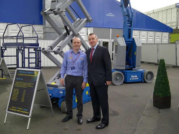 Aircraft Platforms and the boss!