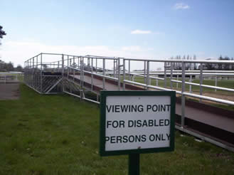 Disabled Persons Viewing Platform
