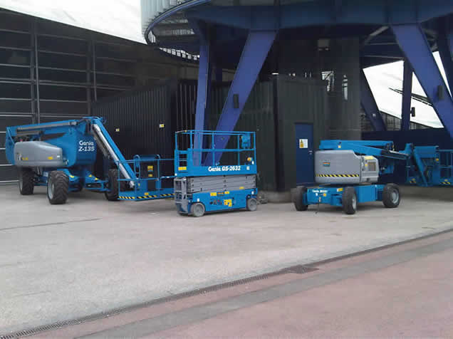 Genie Access Platforms at the O2