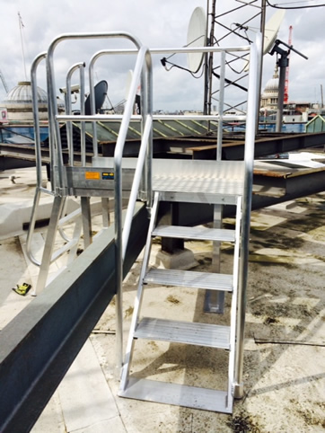 Roof Access Platforms and Walkways