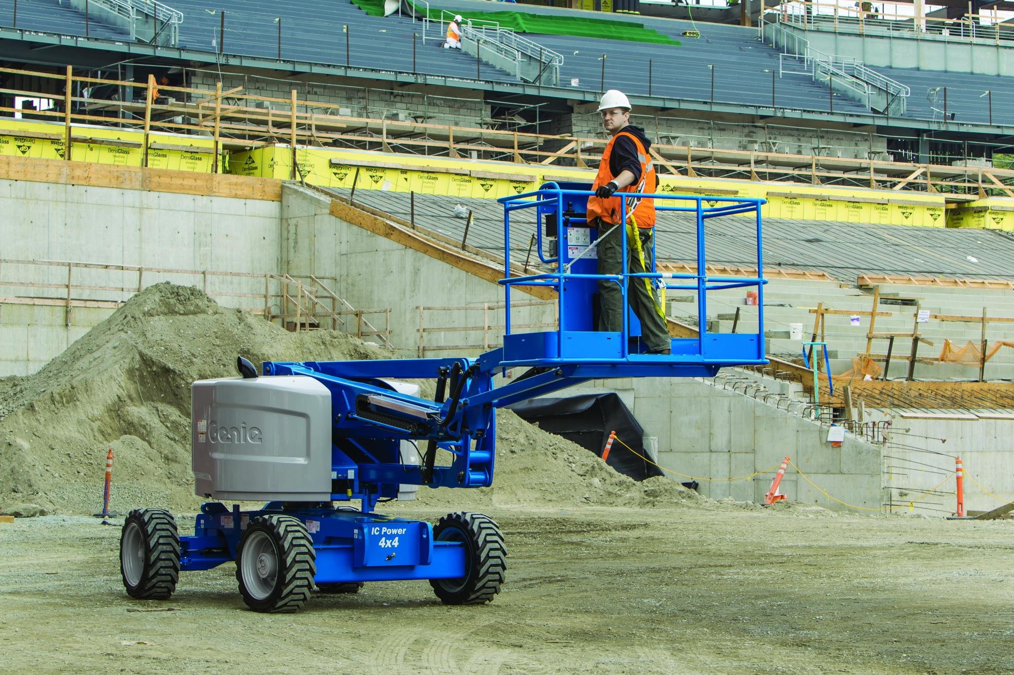 Genie® Z45/25JRT (JIB & Rough Terrain) Articulated Boom Lift