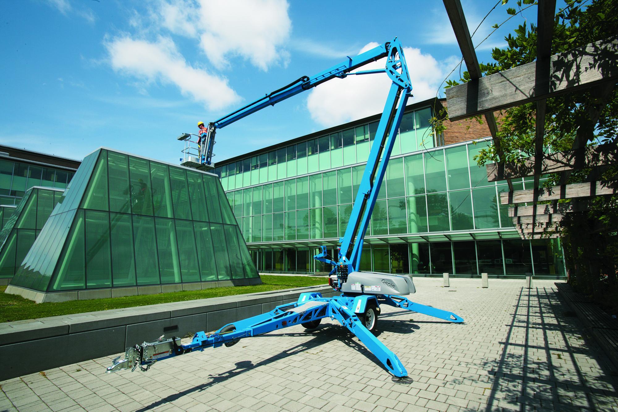 Genie® Z50/30 Trailer Mounted Boom Lift