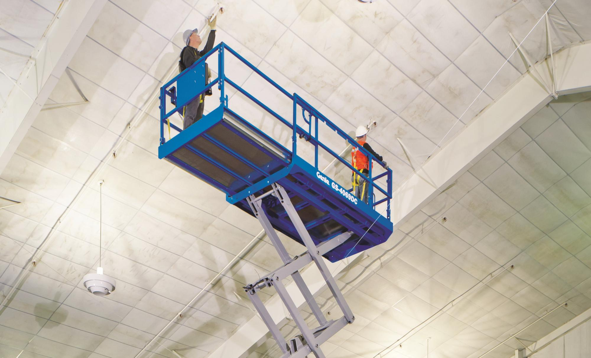 Genie® GS-2669 RT Scissor Lift Access Platform