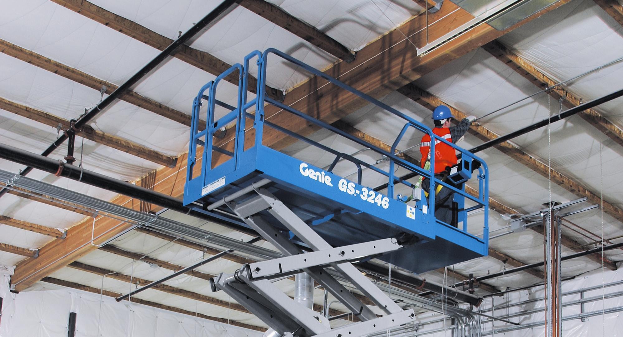 Genie® GS3246 Scissor Lift Access Platform