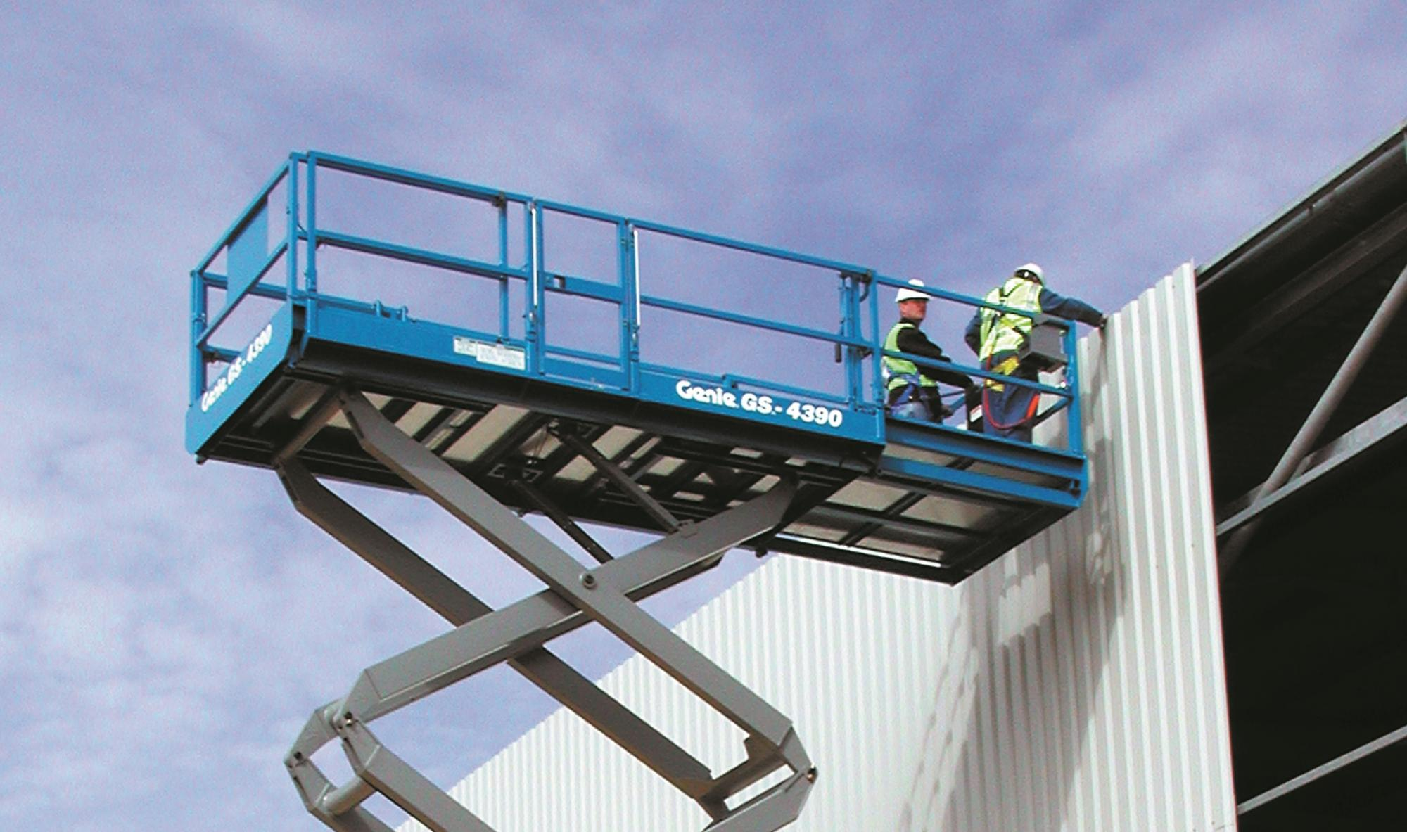 Genie® GS5390 RT Rough Terrain Scissor Lift Access Platform