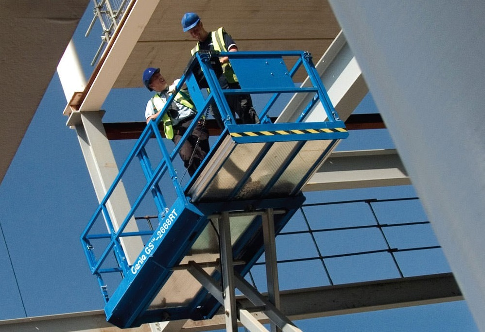 Genie® GS-2669 RT Scissor Lift Access Platform