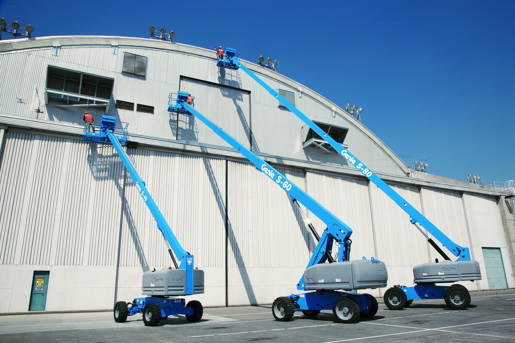 Genie® S45 Telescopic Boom Lift