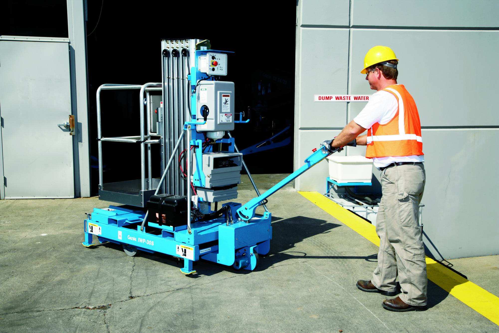 Genie® IWP™ 30S Superseries Portable Access Platform