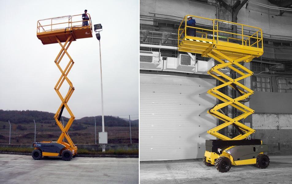 AHS-10 RTE Scissor Lift Access Platform
