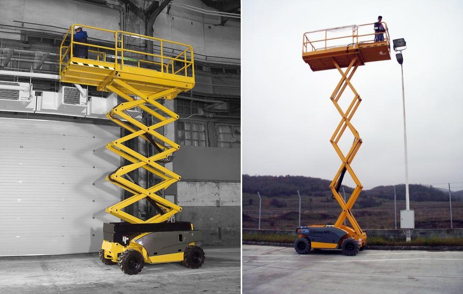 AHS-12 RTE Scissor Lift Access Platform