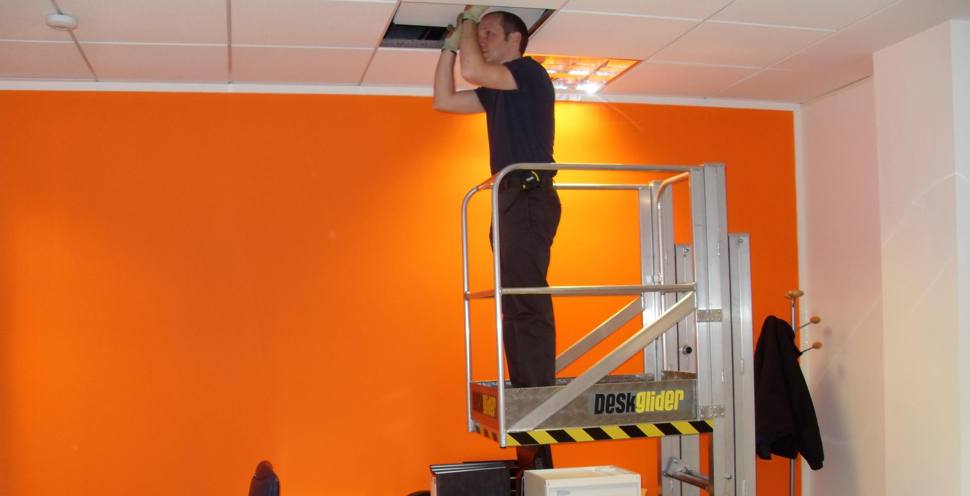 Access Platforms in Offices, Facility Management services ...