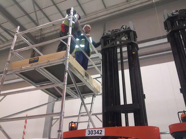 Lift Truck Access Platform