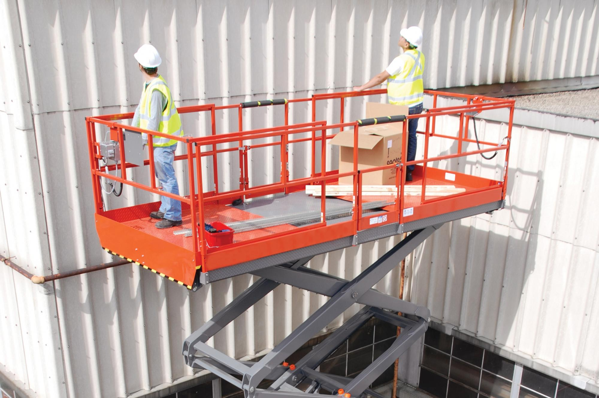 AH-9250 SD Scissor Lift Access Platform