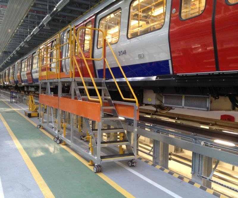 Access Platforms for Trains